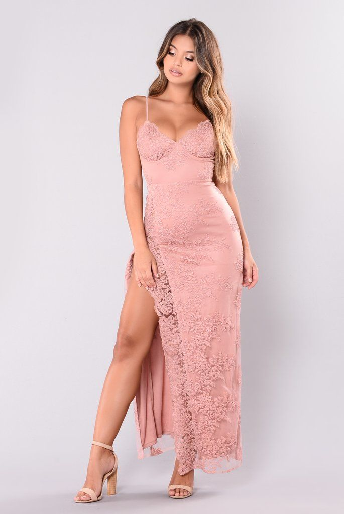 76debca5e A Night In Tokyo Lace Dress - Mauve in 2019 | Darling Dresses ...