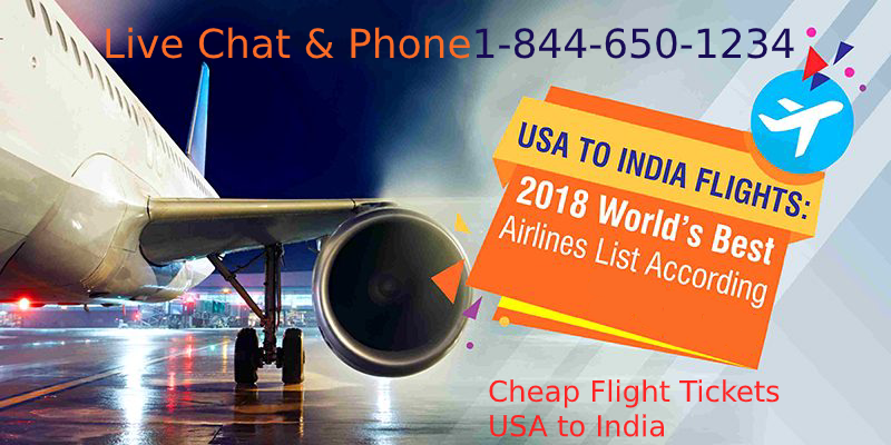 Cheap Flight Tickets From USA to India Tickets Deals. To