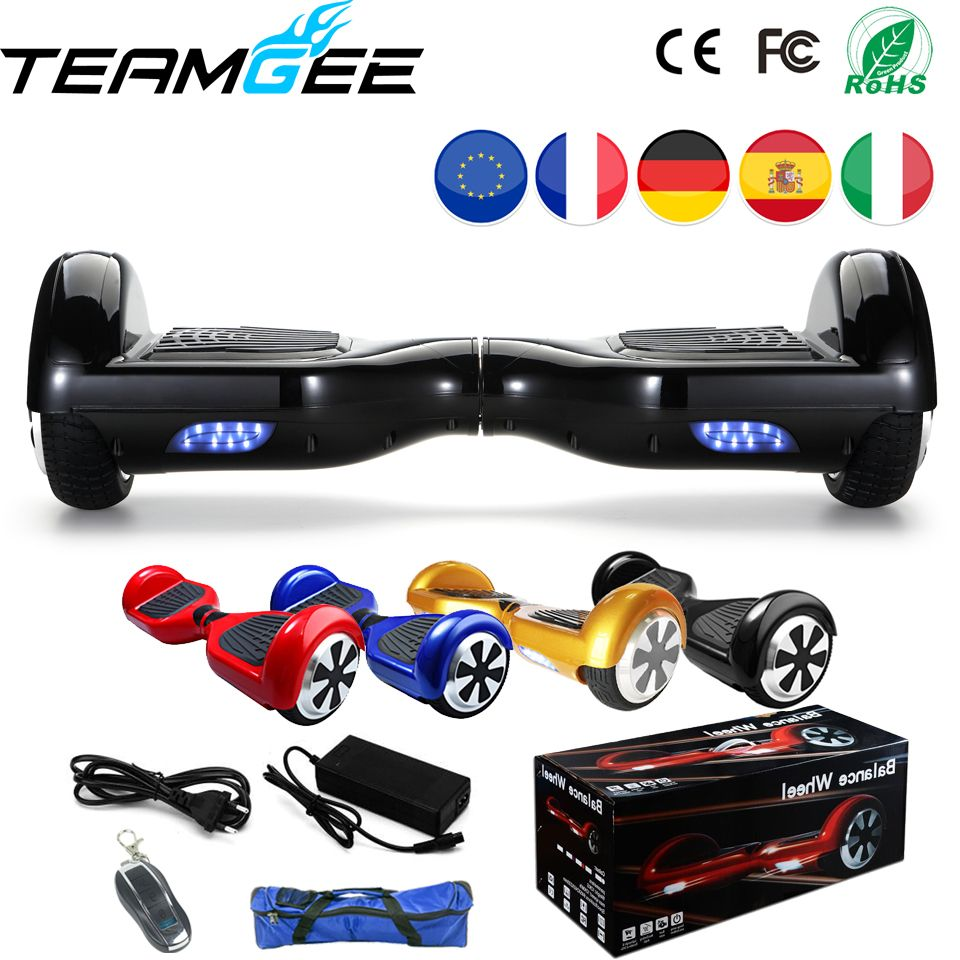 Hoverboard Con Sedile Hoverboard Gyropode 6 5 Pollice Balance Auto Scooter Longboard