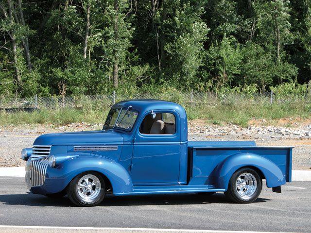 0701cct 01 Z 1946 Chevrolet Pickup Jpg 640 480 Vintage Chevy