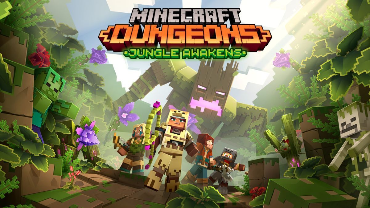 Minecraft Dungeons is getting two DLC packs that could almost