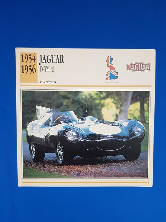 Classic car picture, classic car print, competition, high performance, Jaguar ca…