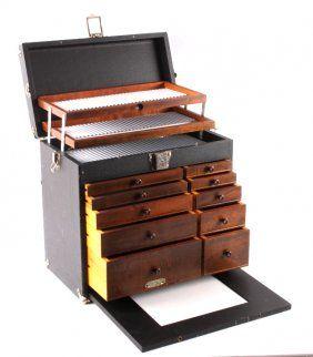 Antique Gerstner & Sons Dental Tool Cabinet