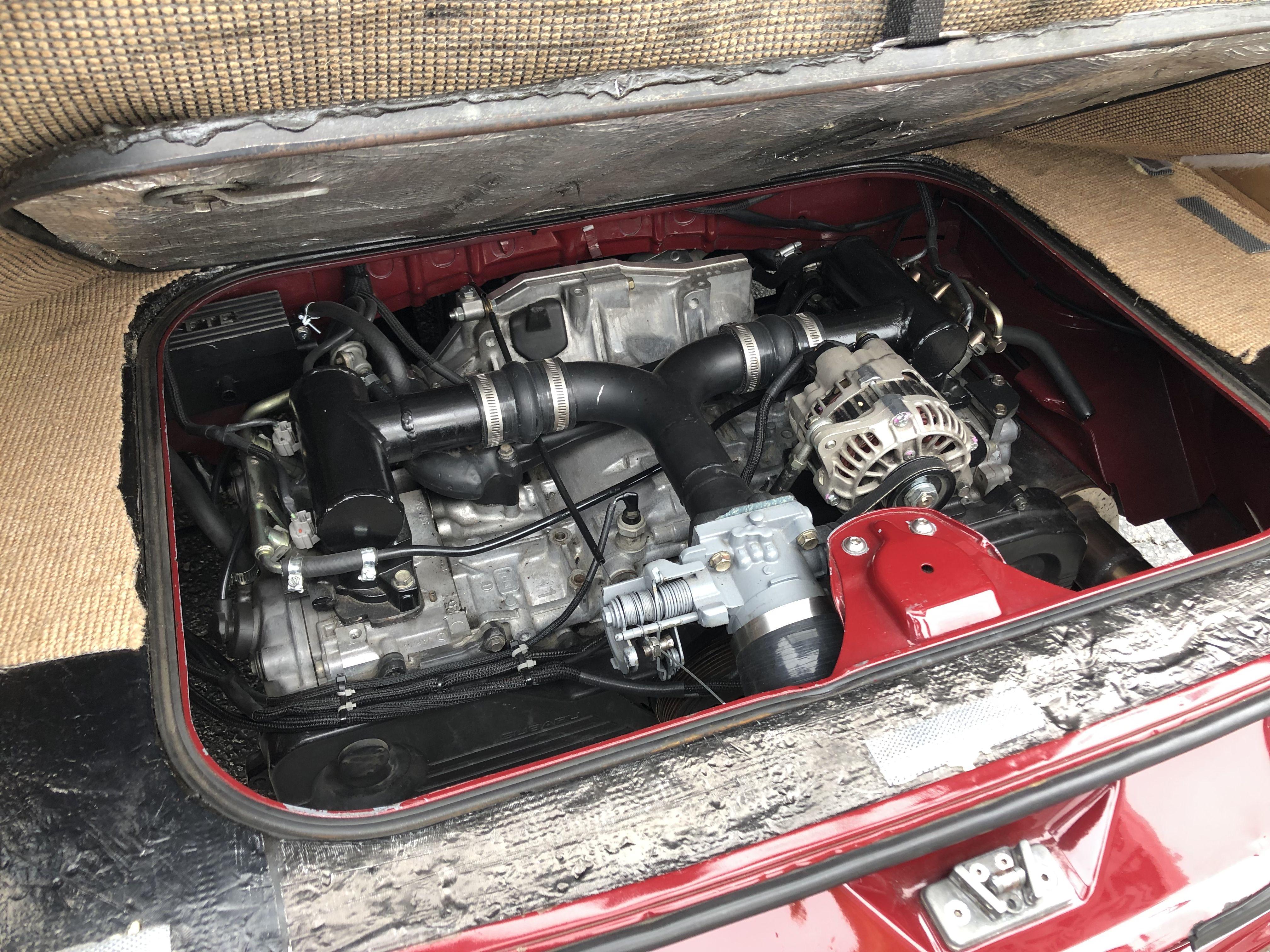 Clean Swap Seen At 2019 Isp West Bbq Volkswagen Type 3 Vw Type