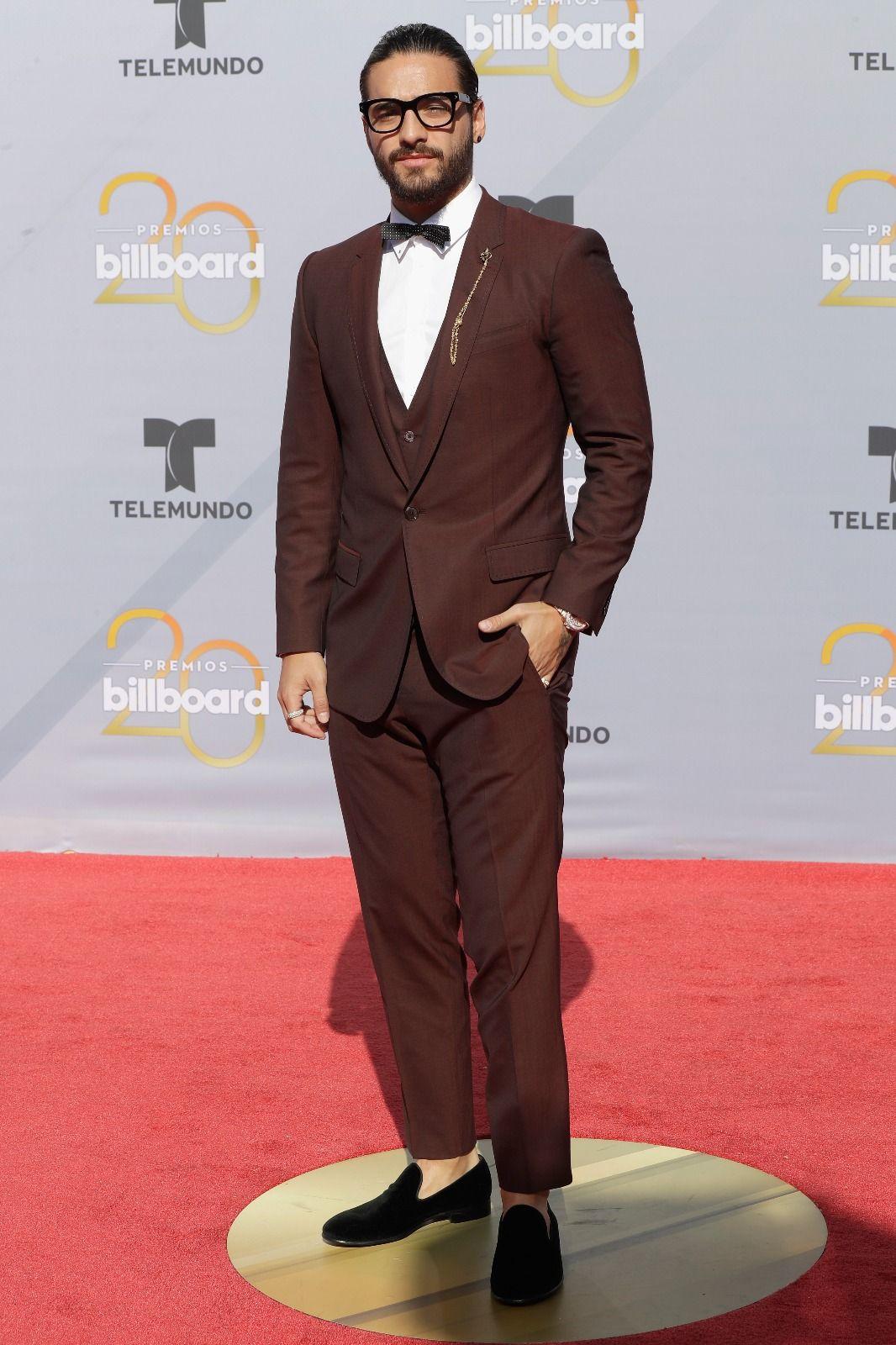 Maluma wears Dolce&Gabbana at the 2018 Billboard Latin
