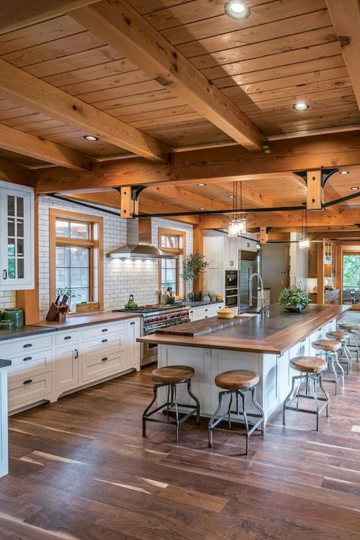 15 modern kitchen design ideas in 2020 with images cottage kitchen cabinets rustic kitchen on kitchen decor themes rustic id=40652