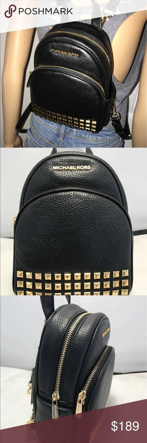 f60828610f Michael Kors Abbey XS Backpack to Crossbody Bag Michael Kors Abbey Extra  Small BackPack Cross body Bag