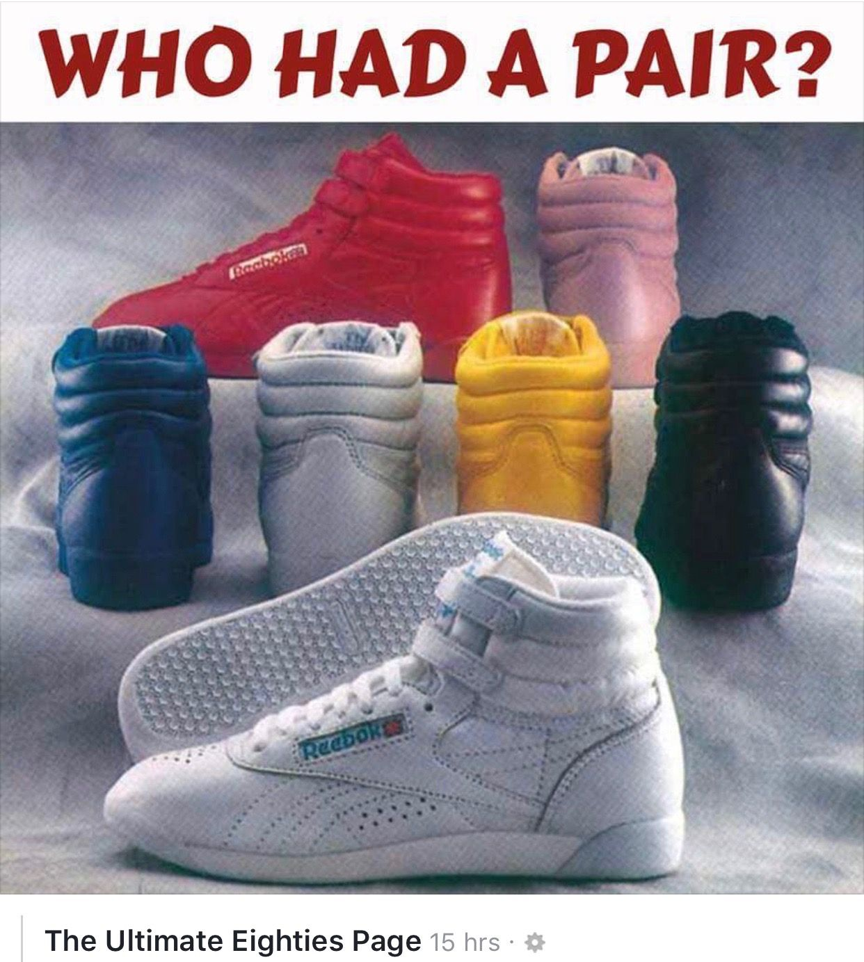 REMEMBER THE REEBOK WORLD BEST RUNNING SHOE FROM 1987? SNEAKER X9