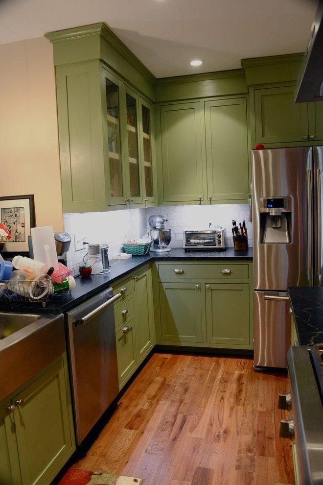 15 kitchens with bright green cabinets pinterest bright green