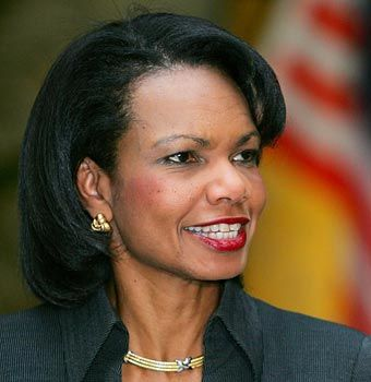 Condoleeza Rice. Smart. Classy. She'd be my Phone-a-Friend. Love her!
