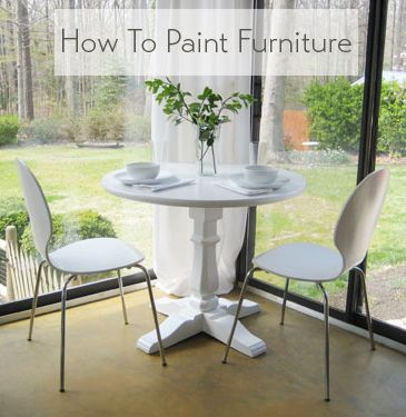 This Furniture Painting Tutorial Is Easy Just Follow Our Stepby Glamorous Ideas For Painting Dining Room Table And Chairs 2018