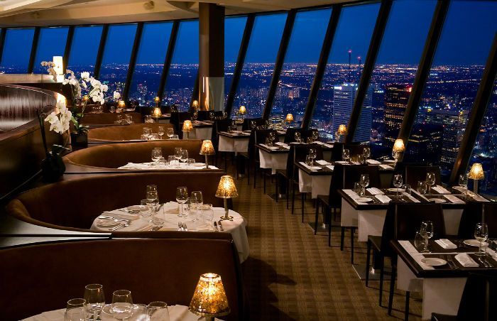 360 The Restaurant At Cn Tower Toronto Canada
