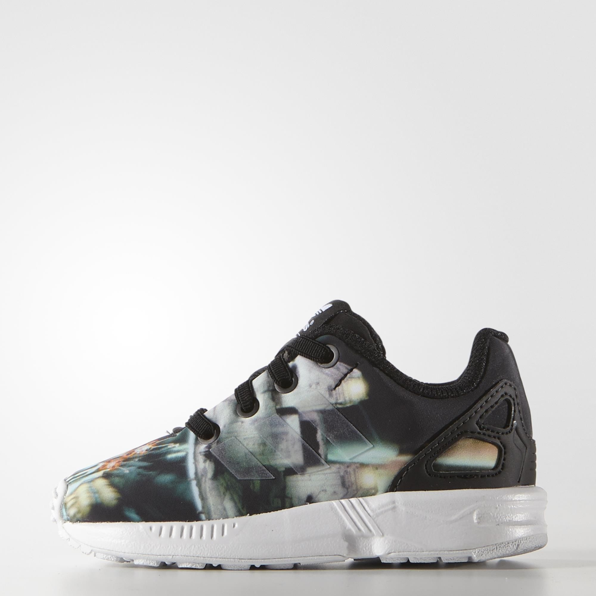 Zapatos negros Adidas ZX Flux infantiles 04zXbMgpt6