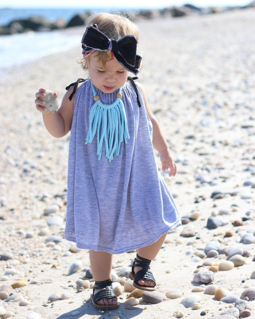 Twirl Dress - Gray - Little Faces Apparel. Little Faces Apparel. baby girl dress, toddler girl fashion, hipster baby, boho baby style.