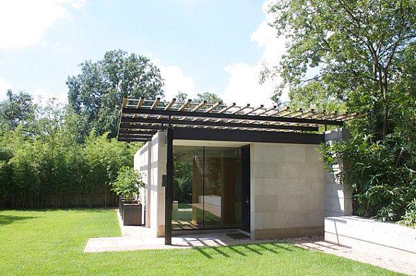 Un mini cottage anglais dans votre jardin a vous tenterait abris de jardin design - Abri de jardin contemporain ...