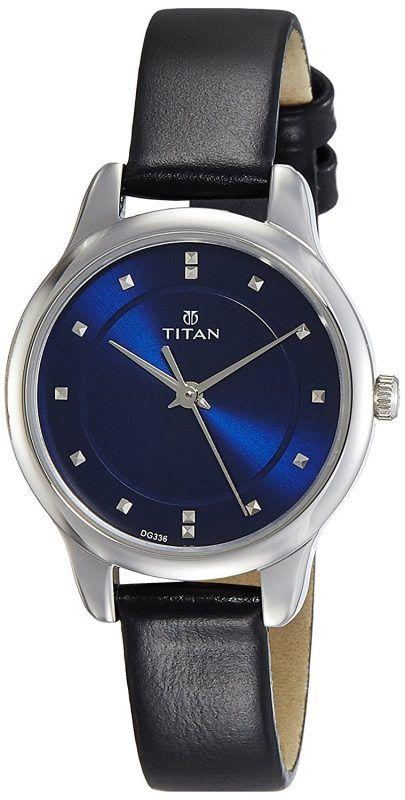 767535944 Titan Ladies Neo-Ii Analog Blue Dial Women s Watch-2481SL08 ...