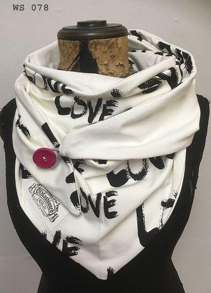 Dreieckstücher - XXL Dreieckstuch, Wickelschal, Tuch, Handmade - ein Designerstück von Cordelia-Loew bei DaWanda #chechetutocouture