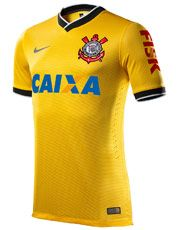 Sport Club Corinthians Paulista - Camisa Nike Corinthians III 2014 ... 4b19a37d846b3