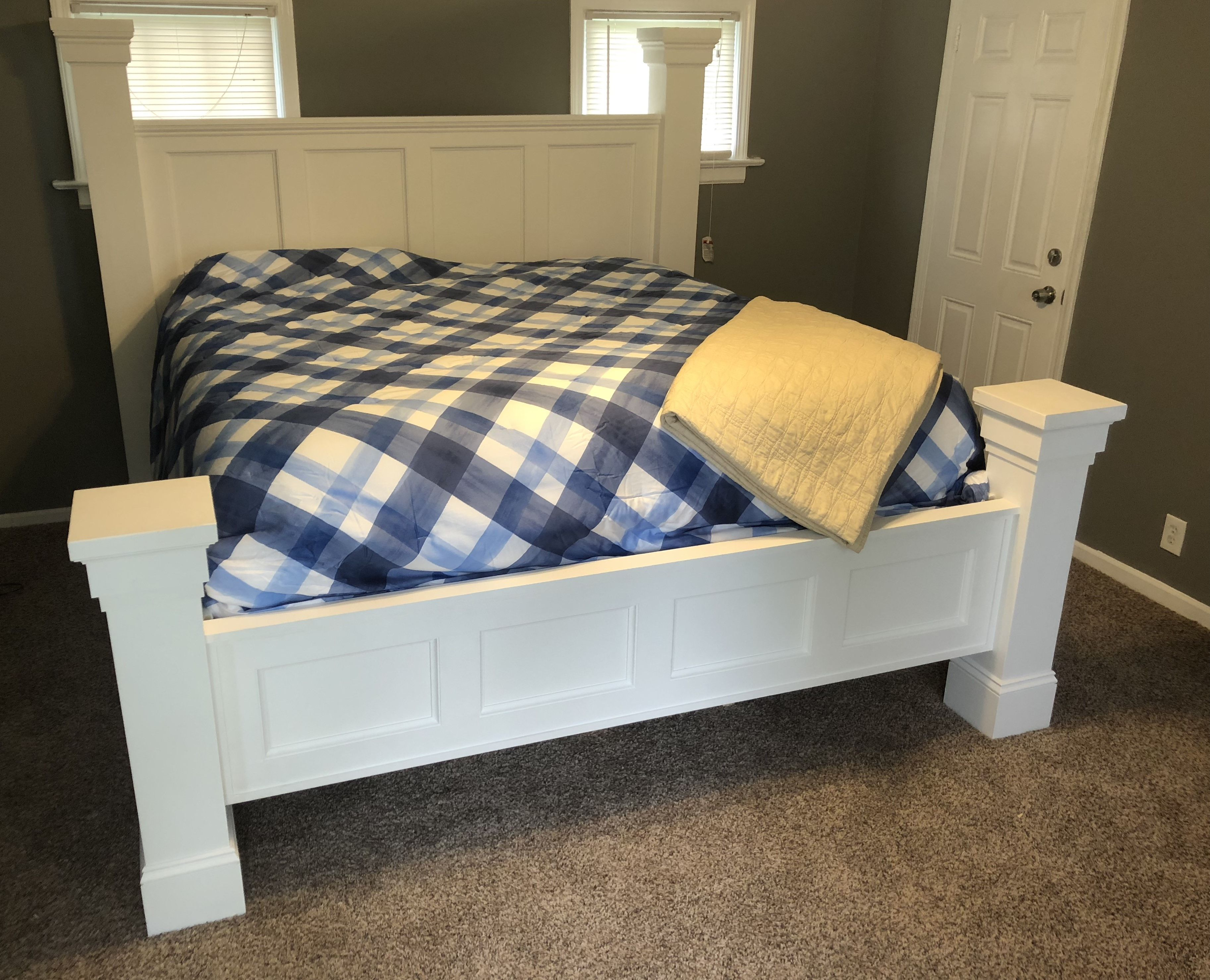 I Designed And Built A King Size Storage Bed Frame 850 In