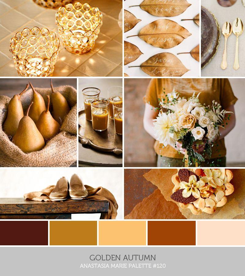 golden autumn - anastasia marie palette