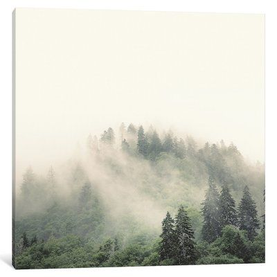 "East Urban Home 'Elevation No. 2, Smoky Mountains' Photographic Print on Canvas Size: 26"" H x 26"" W x 1.5"" D"
