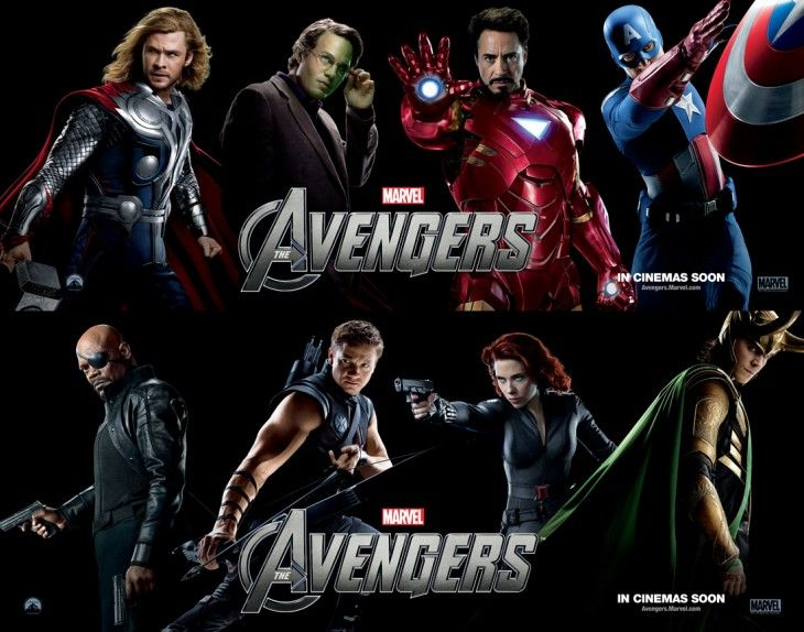 Thor, Hulk, Iron Man, Captain America, Nick Fury, Hawkeye, Black Widow, Loki, I love them all