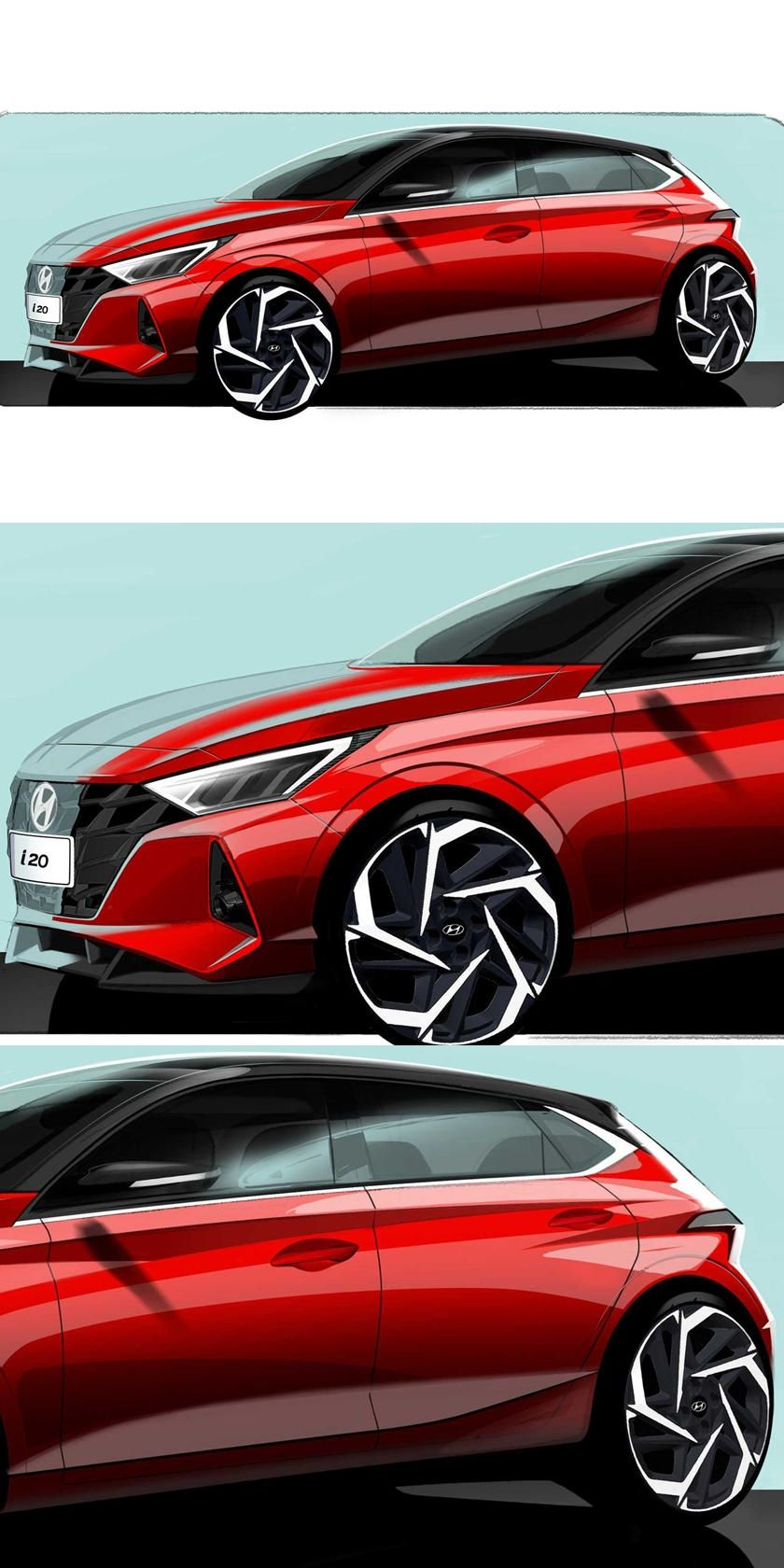 Here S Proof The Next Hyundai Kona Will Look Awesome Who Knew A Humble Subcompact Hatchback Could Look This Good Hyundai Subcompact Hatchback