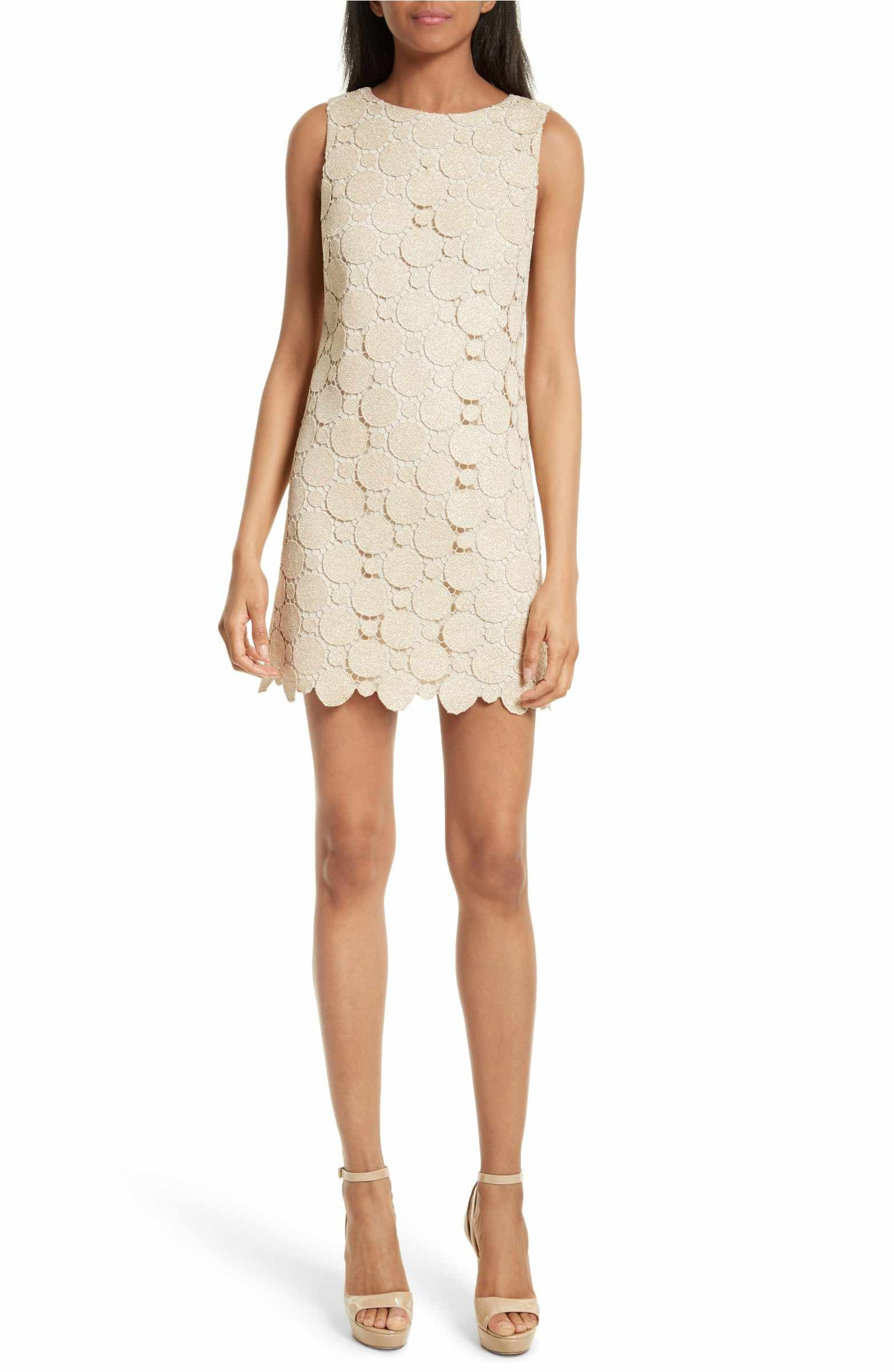 Clyde Dot Lace Shift Dress | Alice olivia, Alice and Nordstrom