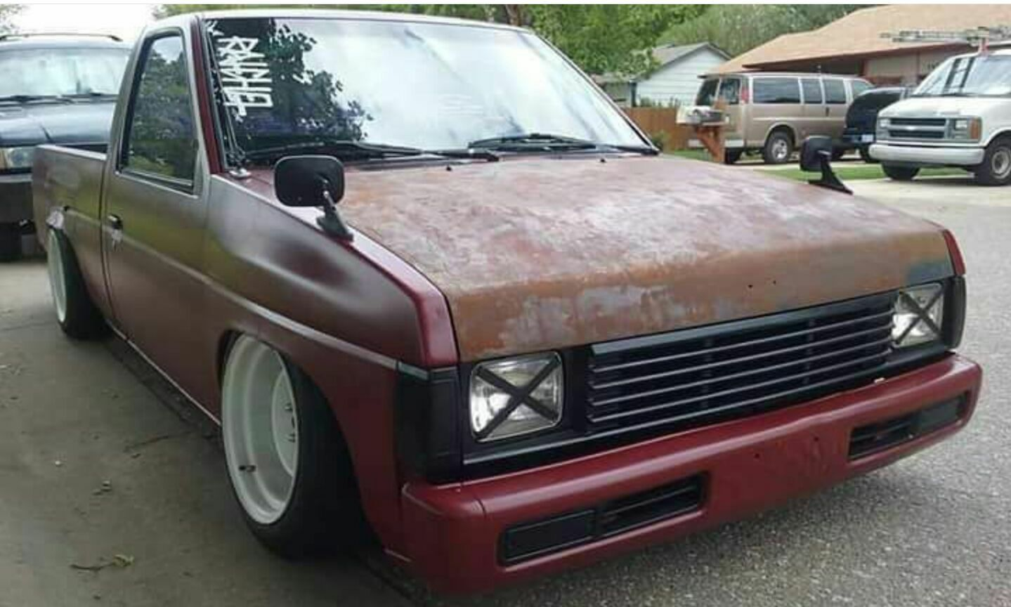 #Nissan_D21 #MiniTruck #Pickup #SingleCab #Modified # ...