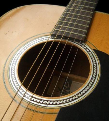Rosette Herringbone Purflinng Sound Hole Inlay Sticker Decal Acoustic Guitar Guitar Acoustic Guitar Guitar Inlay