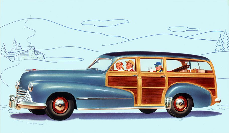 Plan59 :: Classic Station Wagons :: 1948 Oldsmobile Station Wagon