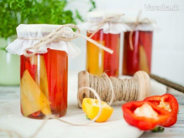 Lahodné papriky voleji - Recept
