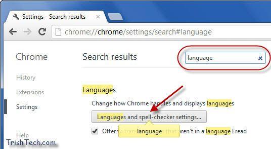 How To Change Language In Google Chrome Change Language Language Language History