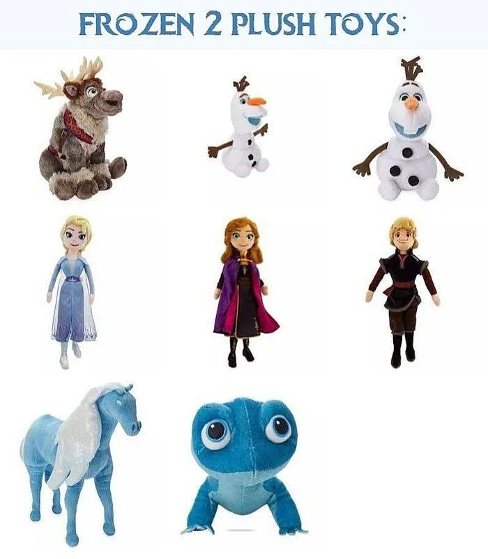 Disney Store FROZEN 2  Soft Toy Doll ELSA ANNA KRISTOFF