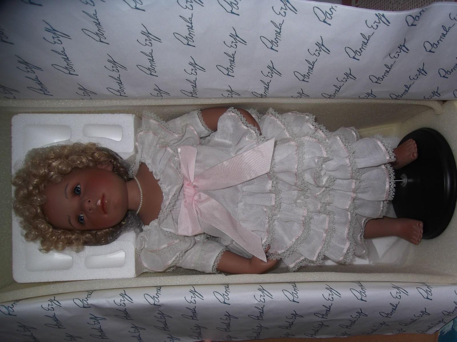 Künstlerpuppe, Porzellanpuppe von Pamela Erff (WIE NEU) | eBay