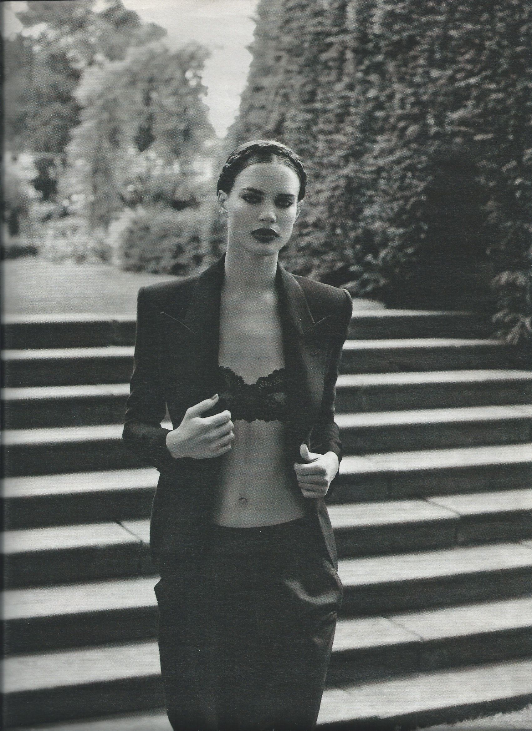 9630f1fea69ea lace bra and blazer  innerwearasouterwear