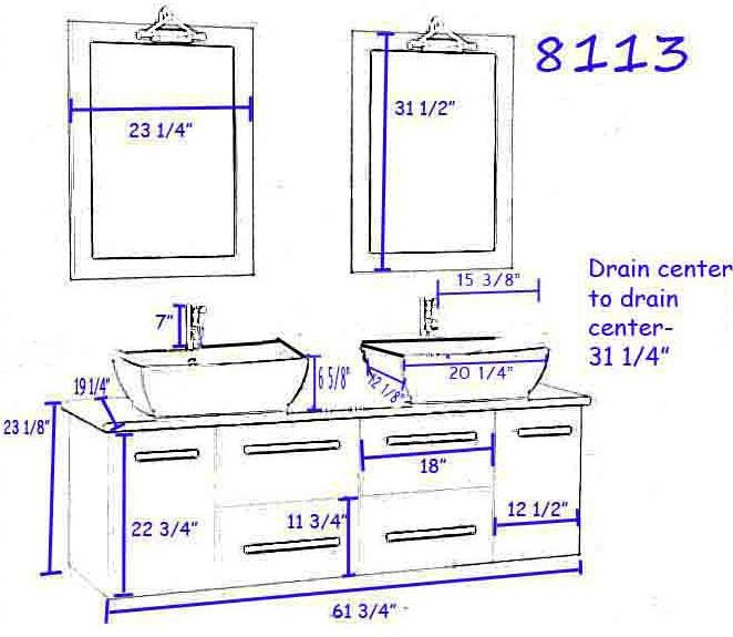 Bathroom Double Sink Plumbing Diagrams Bathroom Sketch