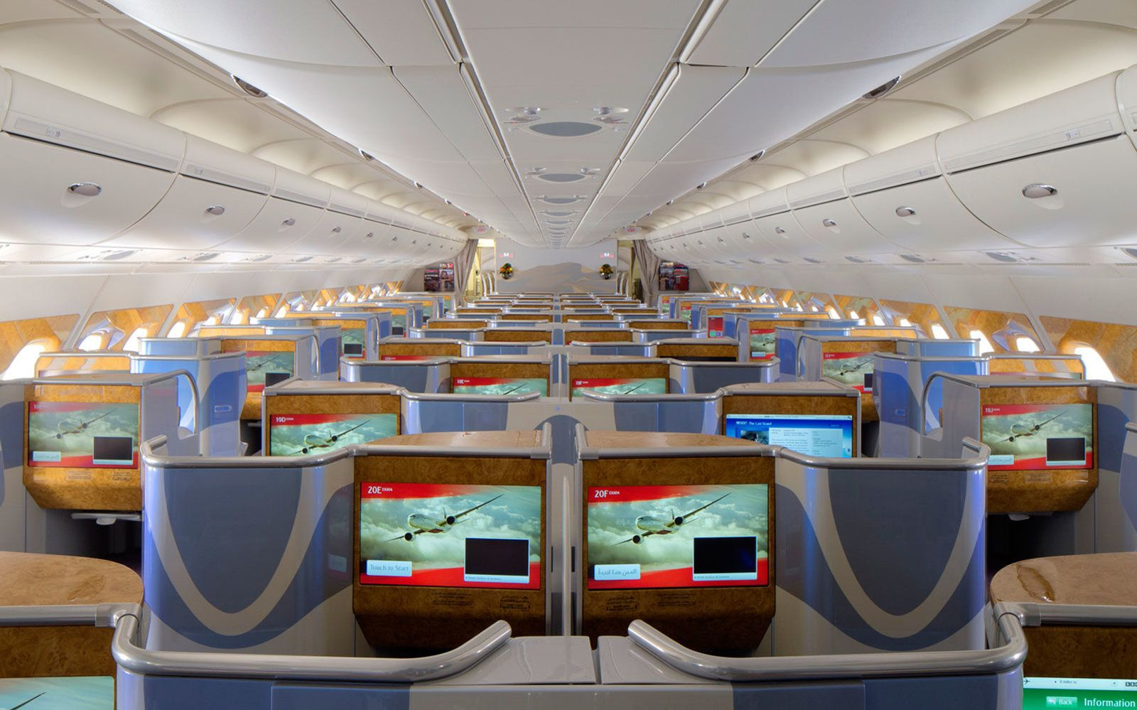 Inside the Airbus A380, the Biggest Passenger Plane in the
