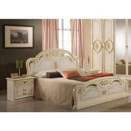 274 99 Mcs Sibilla Cream Italian Bed Frame Italian Bed Bed