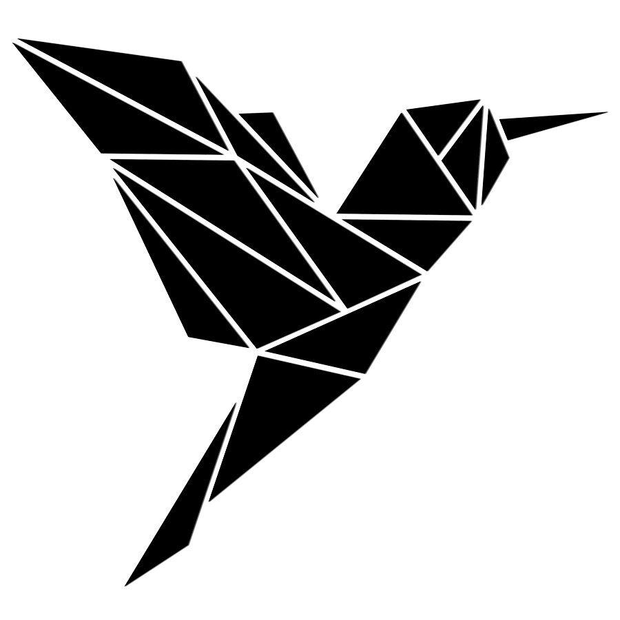 Dekoracja Koliber Z Kolekcji Geometric Niemajakwdomu Dekoracje Scienne Koliber Grafika