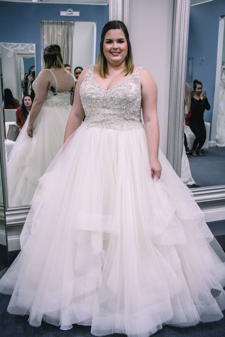 Plus Size Wedding Dress Shopping - My Experience | Pinterest ...