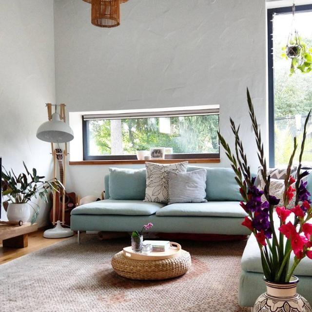 mintfarbenes sofa von ikea mehr bilder findest du auf couchstyle de sofa