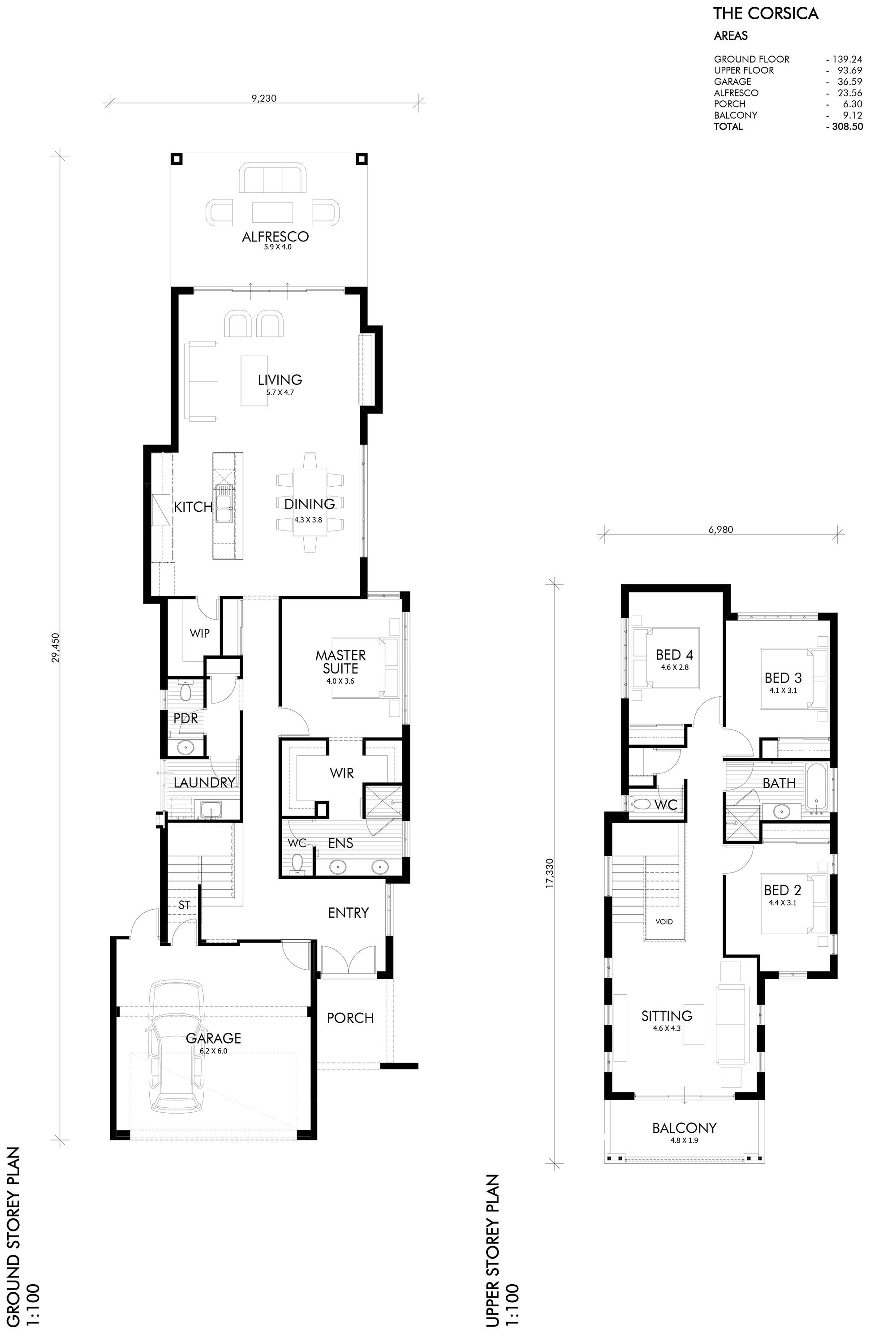 Two storey home | Perth home design | The Corsica | Webb & Brown ...