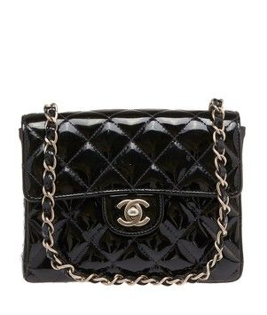 Chanel Quilted Patent Leather Classic Mini Flap (24863) Shoulder Bag. Get one of the hottest styles of the season! The Chanel Quilted Patent Leather Classic Mini Flap (24863) Shoulder Bag is a top 10 member favorite on Tradesy. Save on yours before they're sold out!
