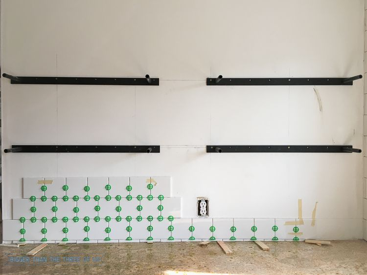 How To Install Heavy Duty Floating Shelves For The Kitchen Built