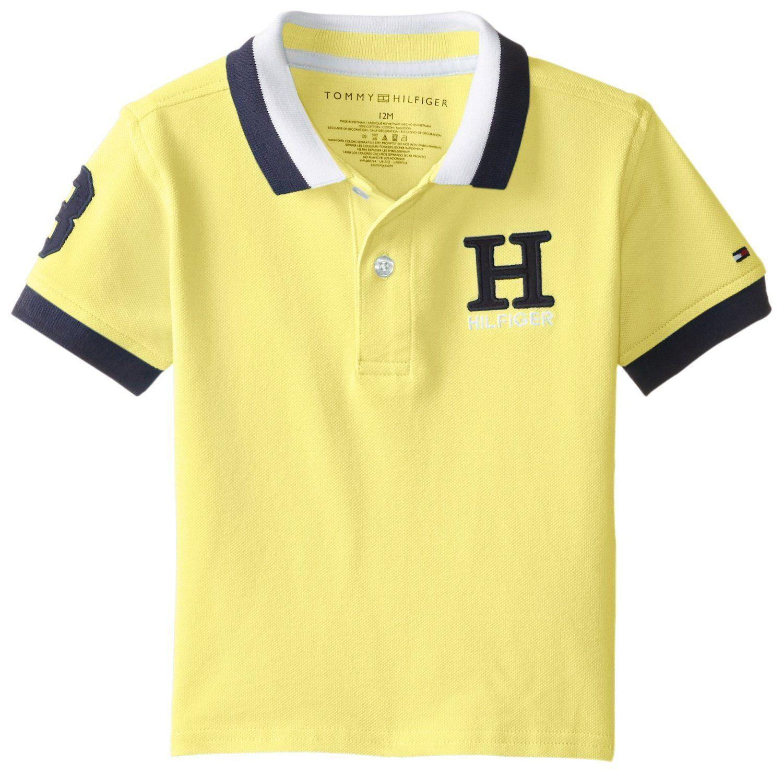 Amazon.com  Tommy Hilfiger Baby Boys  Matt Polo  Clothing  8ca3247f911