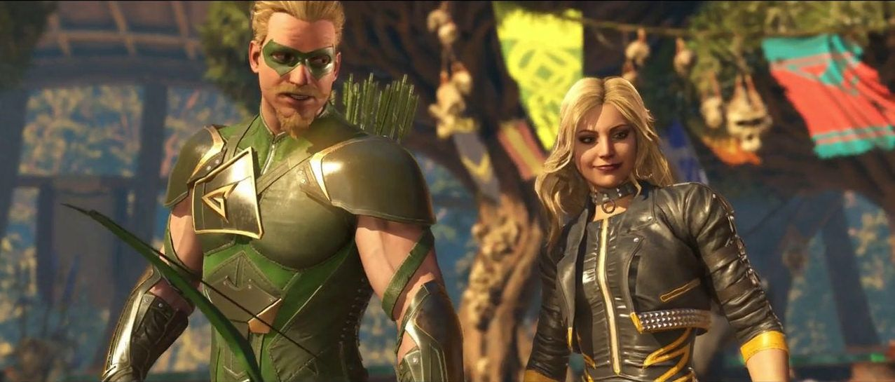Black Canary And Green Arrow Injustice 2 Black Canary Injustice 2 Dc Comics