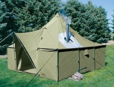 Canvas Cabin Tent   Google Search
