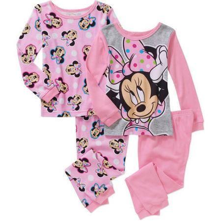 Filles nouveau shopkins shoppies coton rose pyjamas sleepwear pyjama âge 4-10 ans