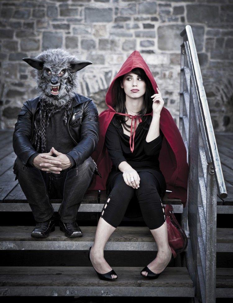 Kostum Paare Selber Machen Lustig Rotkappchen Wolf Costume